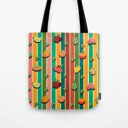 Fruity Stripes Tote Bag