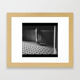 draw your bath Framed Art Print