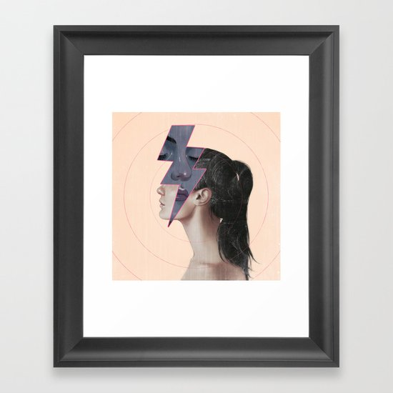 Residues Framed Art Print