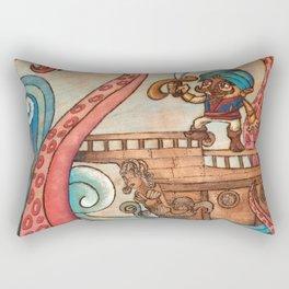 Simbad: Monsters of deep sea. Rectangular Pillow