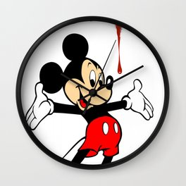 The Poorly Mouse Wall Clock