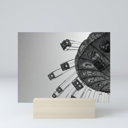 Swing carousel V Mini Art Print