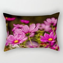 Cosmos Bipinnatus Rectangular Pillow