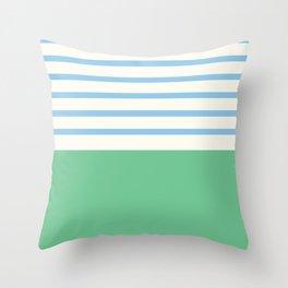Narrabeen Stripe Throw Pillow