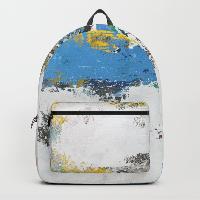 Crow Abstract Art Backpack