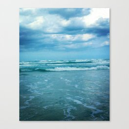 South Padre Island, TX - Stormy Weather Canvas Print