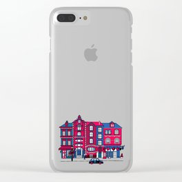 London Facade Clear iPhone Case