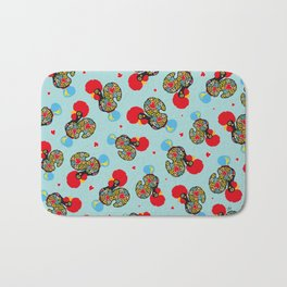 Rooster of Barcelos | Portuguese Lucky Charm Bath Mat