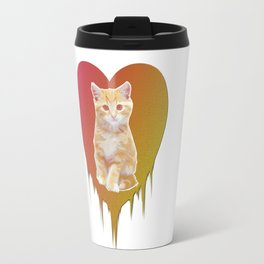 Cat in your heart Travel Mug