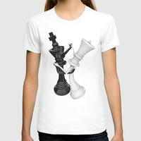 chess T-shirts featuring Chess dancers by GrandeDuc