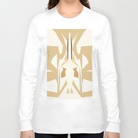trumpet Long Sleeve T-shirts featuring Trumpet by Warfield
