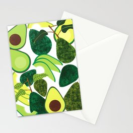 Avocados Stationery Cards