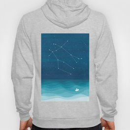 Gemini zodiac constellation Hoody