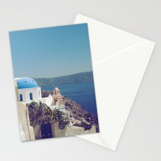 Santorini Door VI Stationery Cards
