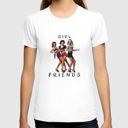 Rachel. Monica. Phoebe. T-shirt