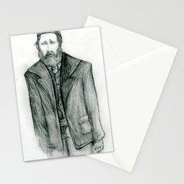 Old Man Blues Stationery Cards