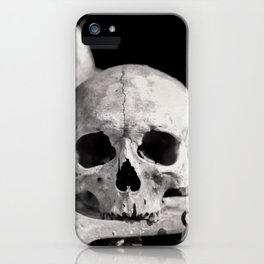 Skulls And Bones iPhone Case
