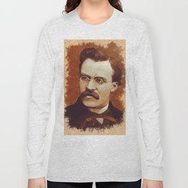 Friedrich Nietzsche, Philosopher Long Sleeve T-shirt