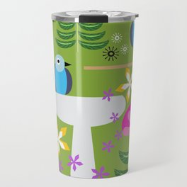 Bird Bath Travel Mug
