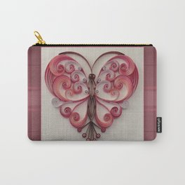 Quilling Heart 5 Carry-All Pouch