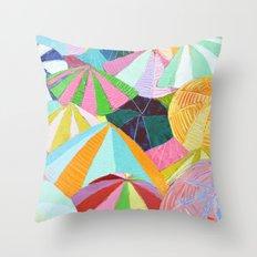 Shore Party Throw Pillow