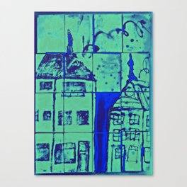 Up On A Roof  #17: from children will play.  Canvas Print