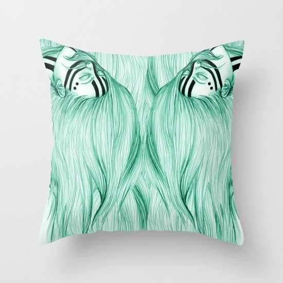 Sisters VIII Throw Pillow