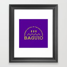 Philippine Series - Baguio Framed Art Print