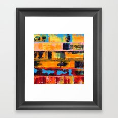 Irradiated Framed Art Print