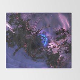 The Winter Rose Throw Blanket