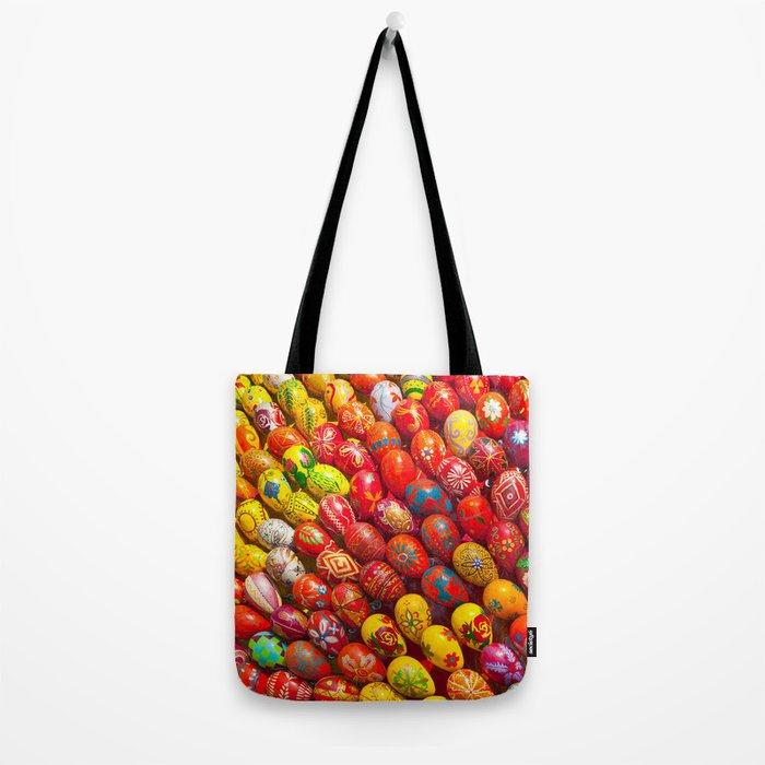 Easter eggs Tote Bag