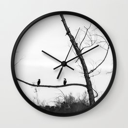 Sitting, Waiting, Wishing! Wall Clock