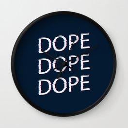 DOPE AF Wall Clock