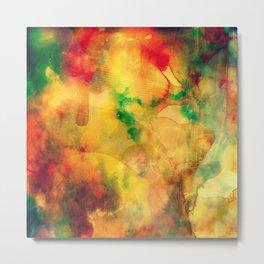 Fume Color Splash 05 Metal Print