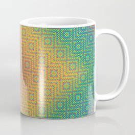 Teotihuacan Wave Coffee Mug