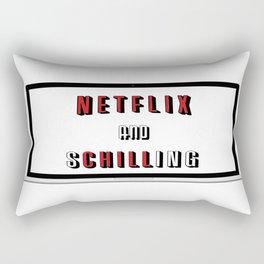 Netflix And Schilling Rectangular Pillow