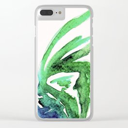 colourful rooster Clear iPhone Case