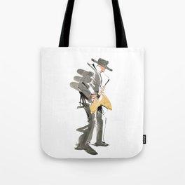 Musician Jazz Saxophone Tote Bag