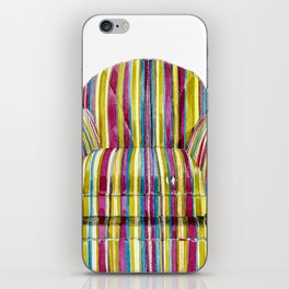Last Chair Before Niagara Falls. iPhone Skin