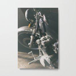 Chopper motorcycle Metal Print