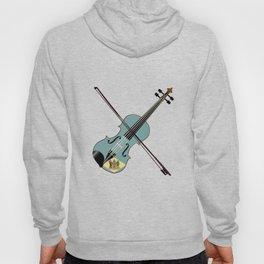 Delaware State Fiddle Hoody