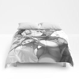 Super Sonico - White Comforters
