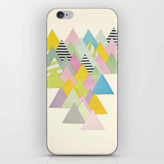 French Alps iPhone & iPod Skin