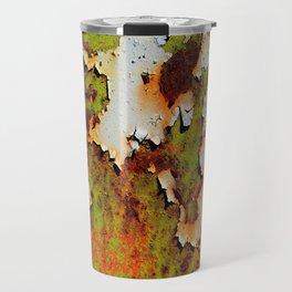 Moldy Rust Texture Travel Mug