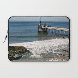 Carpinteria Pier Laptop Sleeve
