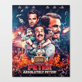 Peter - Absolutely Peter Canvas Print