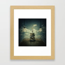 switch on your mind Framed Art Print