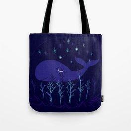 Whale Night Tote Bag