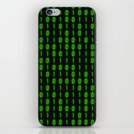 Binary Code Inside iPhone Skin