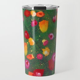 Flowers Afloat Travel Mug